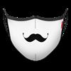 Masque Moustache à l'Anglaise - Photo